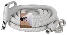 Electric Central Vacuum Hose
